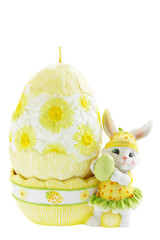 rabbit with the egg