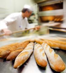 Deurstickers Bakkerij boulangerie