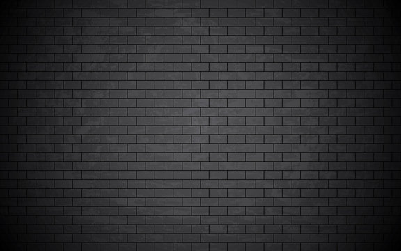 Grunge bricked wall background.