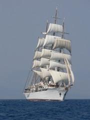 Prachtvolles Segelschiff