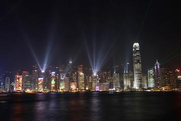 hong kong lightshow symphony of light