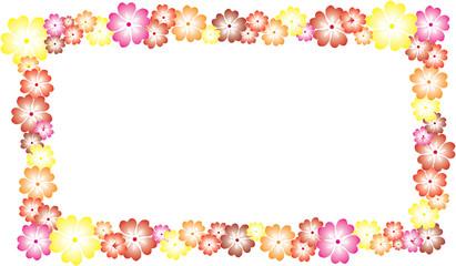 cornice fiorita