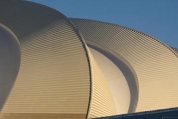 Foto op Plexiglas Stadion Soccer Stadium Roof