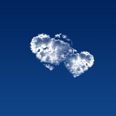 coeur nuage amour romance amoureux mariage union