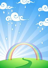 Poster Magic world Rainbow