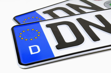 Auto Kennzeichen Deutschland