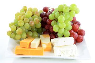 Mediterranean Cheese plate.