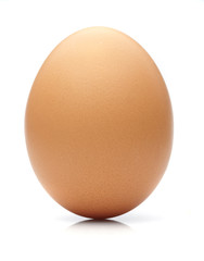 egg on white background.