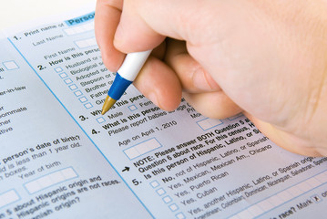 Filling out a form