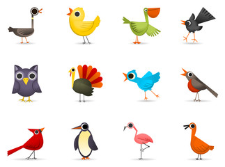 Icon Set 3 - Birds