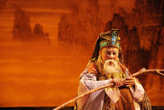 china opera The God of land