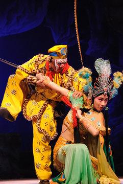 china opera fight