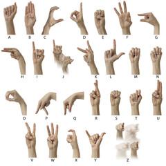 ASL Alphabet with labels