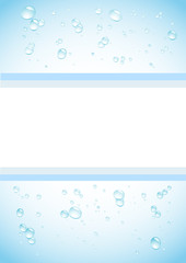 blue water drops background2
