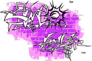 Graffiti - Sun end Rays.