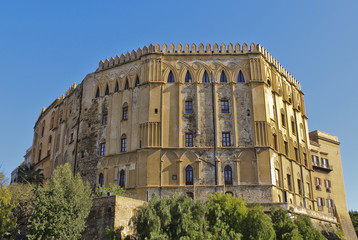 Normans' Royal Palace in Palermo, Sicily