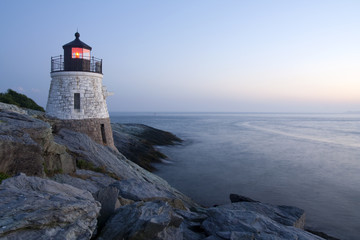 Wall Murals Lighthouse Castle Hill Lighthouse in Newport, Rhode Island