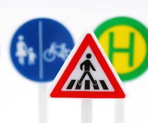 Verkehrs-Schilder - Macro - Traffic Signs