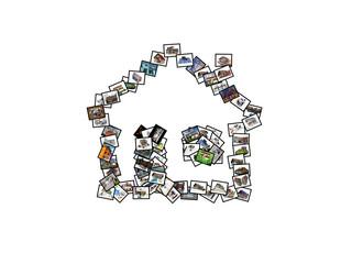 maisons en images