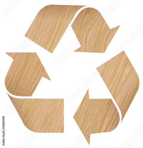 Recyclage bois photo libre de droits sur la banque d 39 images f - Recyclage cagette bois ...