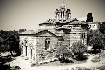 Church of the Holy Apostles, Athens, Greece