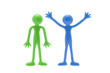 Standing Miniature Figures