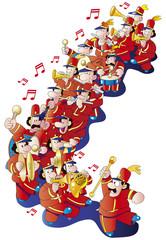 楽隊 マーチ バンド