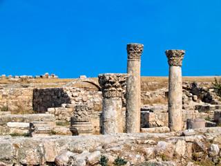 Roman citadel in Amman, Jordan