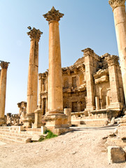 Roman city Jerash, Jordan