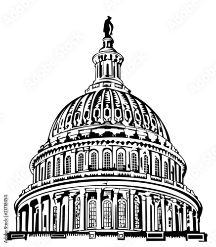 simple capitol building coloring pages - photo#16