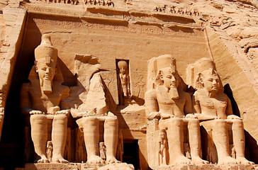 Printed roller blinds Egypt abu simbel
