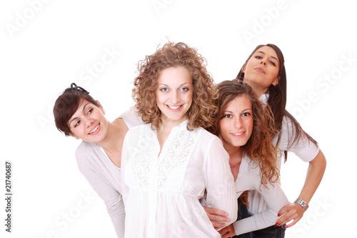 free photo of girls laughing № 12039