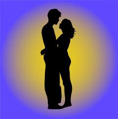couple - vector