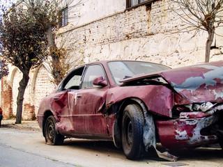 coche chocado