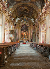 Piaristick church of st. Frantisek Xaversky