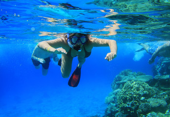 Snorkeling in Red Sea