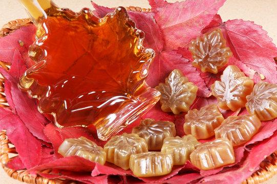 Maple syrup taste
