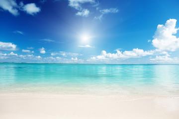 Fotomurales - sand and Caribbean sea