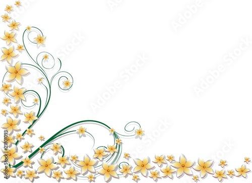 Cornice Di Fiori Primavera 1 Stock Image And Royalty Free Vector