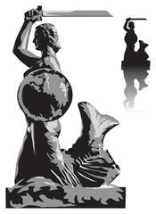 Warsaw mermaid profile