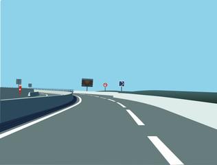 route de circulation