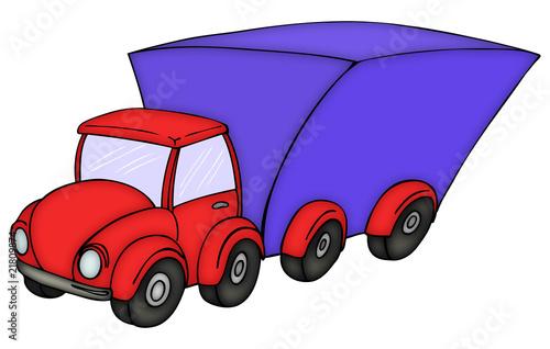 lkw umzug transport truck lastwagen transporter stockfotos und lizenzfreie bilder auf. Black Bedroom Furniture Sets. Home Design Ideas