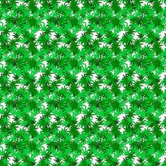 Cannabis Endlos Muster