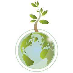 Grow green earth