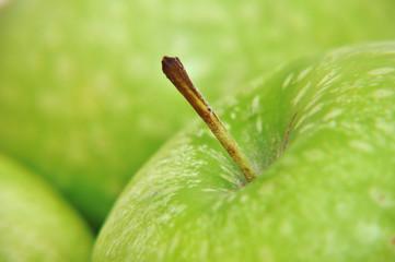 grüne Äpfel - Makro