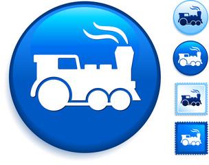 Train Icon on Internet Button