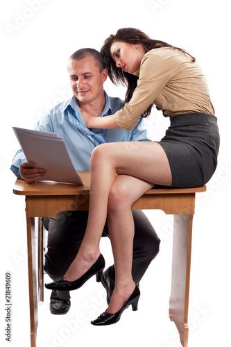 Босс трахает онлайн