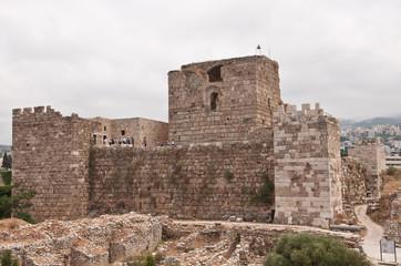 Crusader castle in byblos