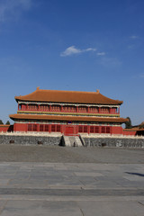 Ancient building in forbidden city