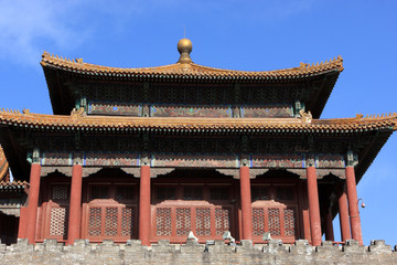 Ancient temple in forbidden city